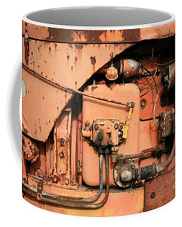 Coffee Mug featuring the photograph Tractor Engine V by Stephen Mitchell