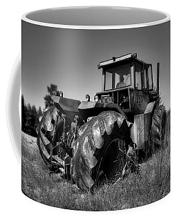 Tractor In The Countryside Coffee Mug