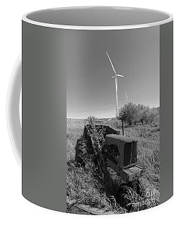 Tractor In The Wind Coffee Mug