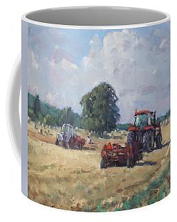 Tractors In The Farm Georgetown Coffee Mug