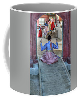 Traditional Clothes In Korea Coffee Mug