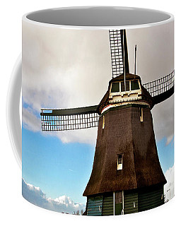 Traditional Dutch Windmill Near Volendam  Coffee Mug