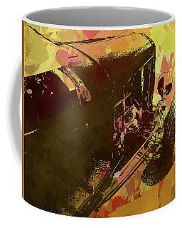 Traditional Roadster Pop Yellow Coffee Mug