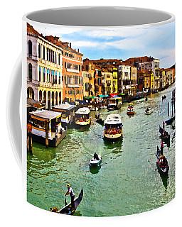Traghetto, Vaporetto, Gondola  Coffee Mug