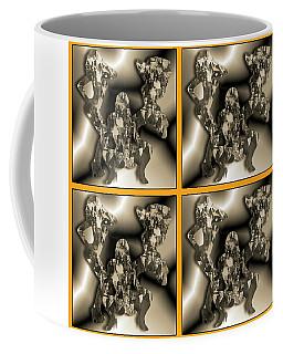 Coffee Mug featuring the digital art Tragic Tanya by Steve Sperry