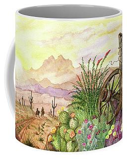 Trail At Sunrise Coffee Mug