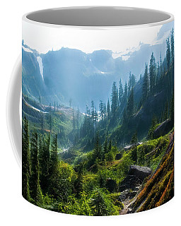 Trail In Mountains Coffee Mug