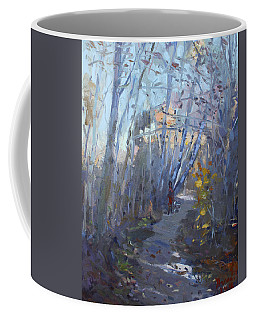 Trail In Silver Creek Valley Coffee Mug