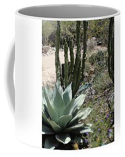Trail Of Cactus Coffee Mug