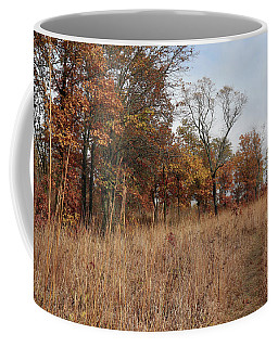 Trail Through The Autumn Prairie Coffee Mug