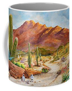 Trail To The San Tans Coffee Mug
