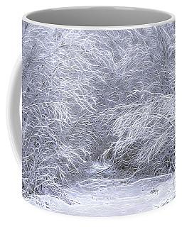 Trailhead Snowscape Coffee Mug by Marty Saccone
