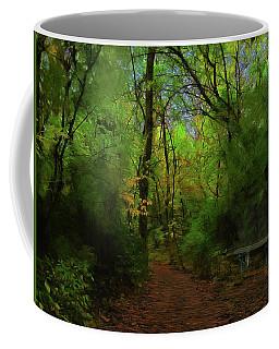 Trailside Bench Coffee Mug