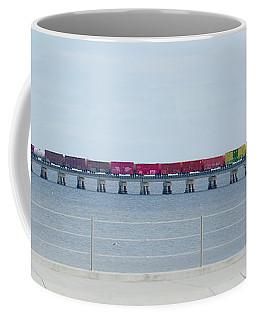 Train Bridge Coffee Mug