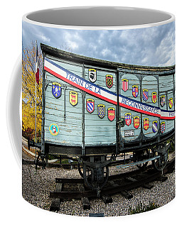 Train De La Reconnaissance Francaise - Ogden - Utah Coffee Mug by Gary Whitton