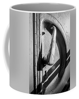 Train Door Handle Coffee Mug by John Williams
