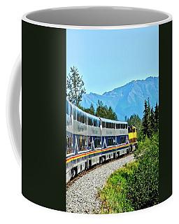 Train In Alaska Coffee Mug
