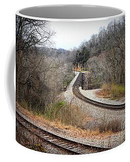 Train Tracks Across The New River - Radford Virginia Coffee Mug