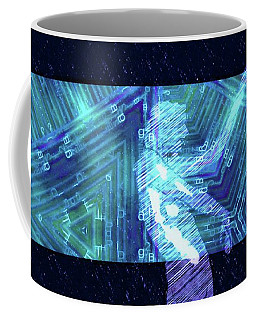 Trance Girl No. 5 By Mary Bassett Coffee Mug