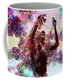 Trance Girl No. 8 By Mary Bassett Coffee Mug