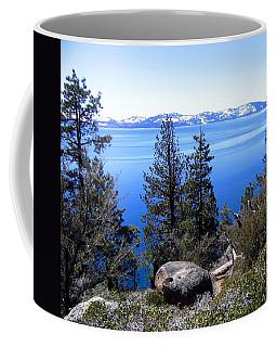 Tranquil Lake Tahoe Coffee Mug