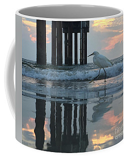 Coffee Mug featuring the photograph Tranquil Reflections by LeeAnn Kendall