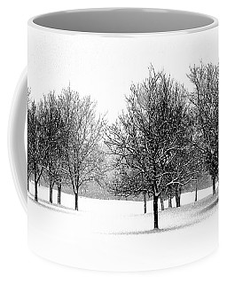 Tranquil Snowfall Coffee Mug by Adam Olsen