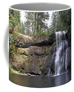 Tranquil Waterfall Coffee Mug by Jim Walls PhotoArtist