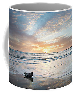 Tranquility At Aberdeen Beach Coffee Mug