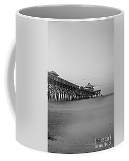 Tranquility At Folly Grayscale Coffee Mug