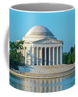 Tranquility At The Jefferson Memorial Coffee Mug