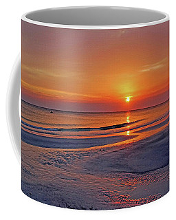 Coffee Mug featuring the photograph Tranquility - Florida Sunset by HH Photography of Florida