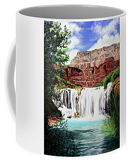 Tranquility In The Canyon Coffee Mug