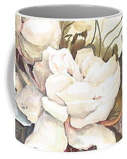 Tranquility Study In White Coffee Mug