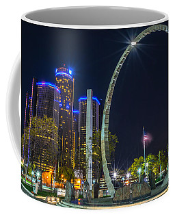 Transcend Detroit  Coffee Mug
