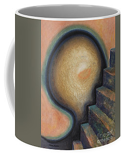 Coffee Mug featuring the painting Transcendence by Mini Arora