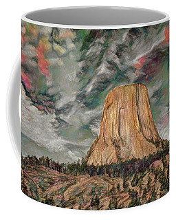 Transcendental Devils Tower Coffee Mug