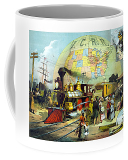 Transcontinental Railroad Coffee Mug