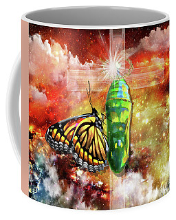 Transformed By The Truth Coffee Mug by Dolores Develde