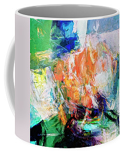 Coffee Mug featuring the painting Transformer by Dominic Piperata