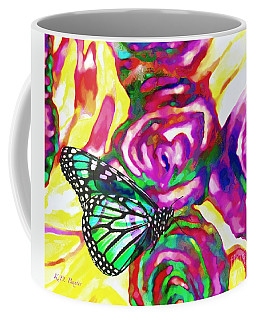Translucent Butterfly Harmony Coffee Mug by Kimberlee Baxter