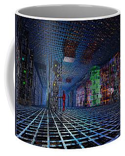 Transmission Deck Coffee Mug by Mark Blauhoefer