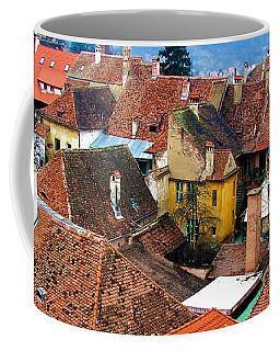 Transylvania Rooftops Coffee Mug