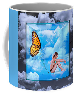 Trapped Butterfly Coffee Mug