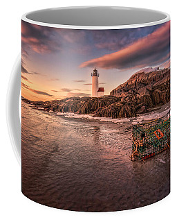 Trapped Ice At Annisquam Light Coffee Mug