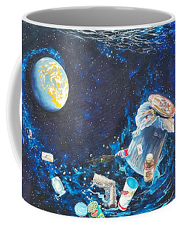 We Loved Earth At One Time - Yes We Did. Coffee Mug