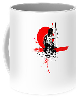 Trash Polka - Female Samurai Coffee Mug