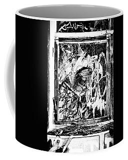 Trashed Coffee Mug