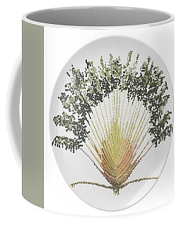 Travelers Palm Plate Coffee Mug