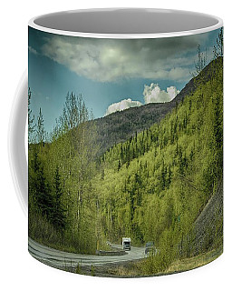 Traveling Alaska   Coffee Mug